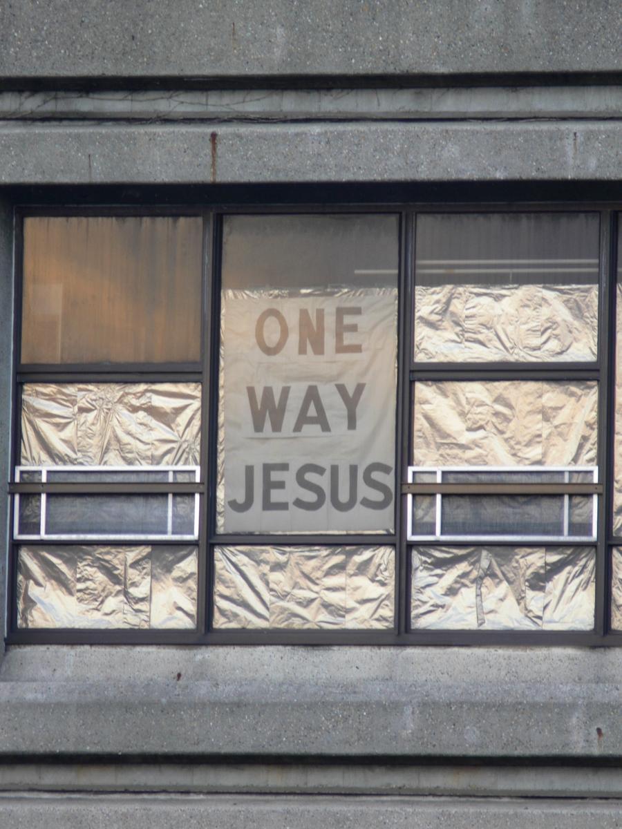 Australien - one way Jesus