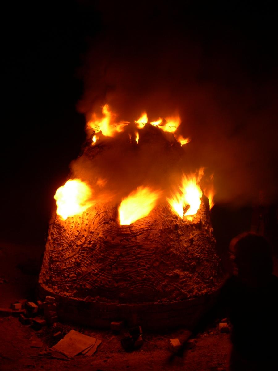 Australien - Adils Kuppel am Brennen