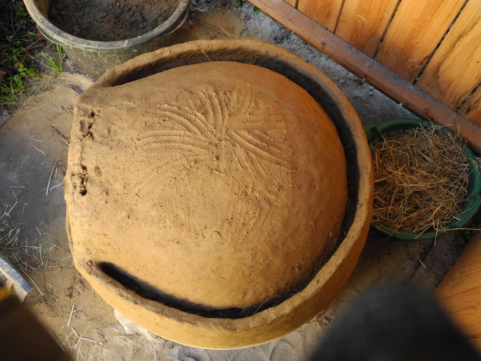 Lehmbrotbackofenbau