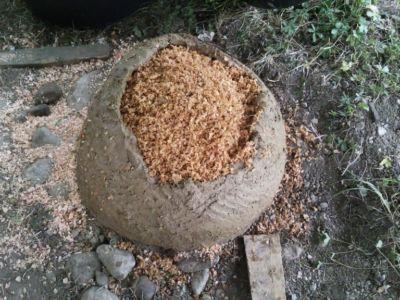 Minibrotofen im Bau